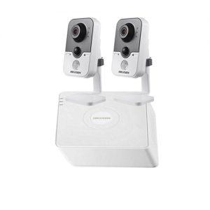 Haikon 2 Kablosuz IP Kameralı Paket (1.3mp) - IP601 W