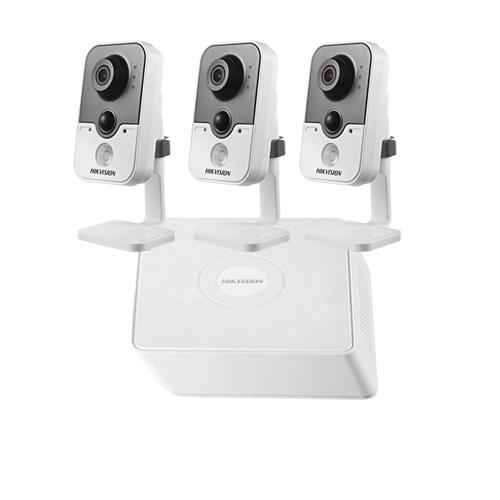 Haikon 3 Kablosuz IP Kameralı Paket (1