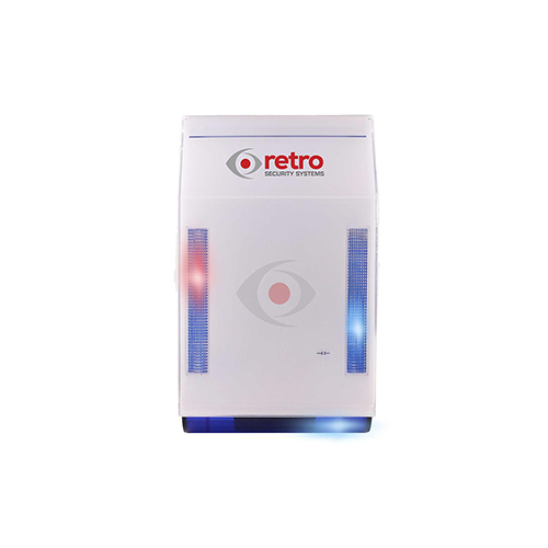 RT-1001 OUTDOOR SİREN WİTH BATTERY BLUE+ RED